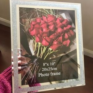 Accessories - 2 NEW Silver Sparkly Sparkle Picture Frames